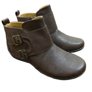 Comfortview Amberly women side zip ankle boots 11M
